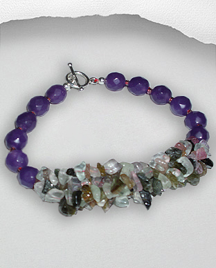 <b>Exclusive semi gem stones bracelet</br>