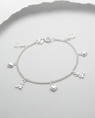 <b>Silver bracelet for children</b>