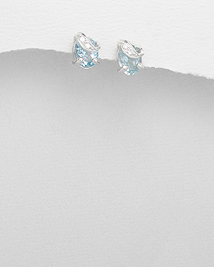 <b>Special silver and topaz gem stones </b>