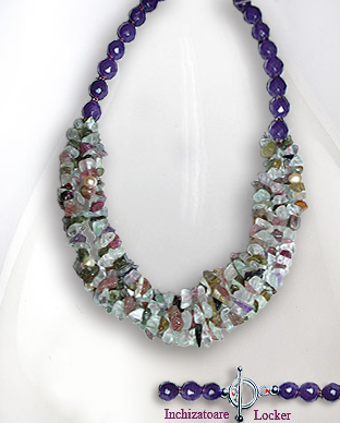 <b>Exclusive semi gem stones necklace</b>