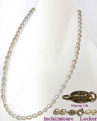 <b>Exclusive, fine, classic pearls necklace</b>