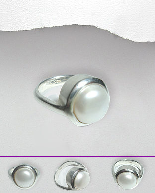 <b>Special silver and ring</b>